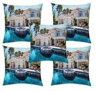 Sweet Home printed cushion cover