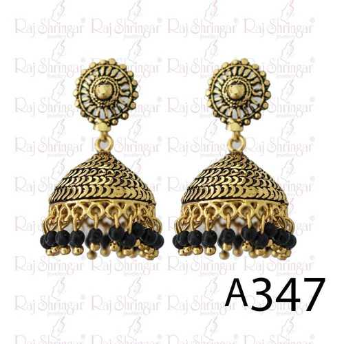 Round  Fancy Earring