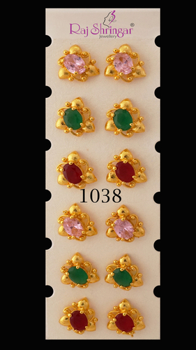 Colored Stone Earring