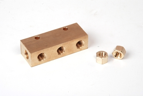 Brass Double Sided Manifold