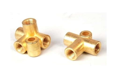 Brass Bracket Tee Connectory 3 Way