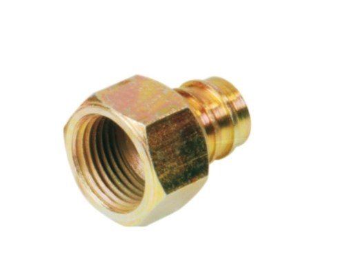 Brass Push In Back Nut