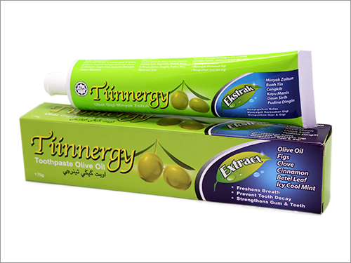 Toothpaste Olive Oil