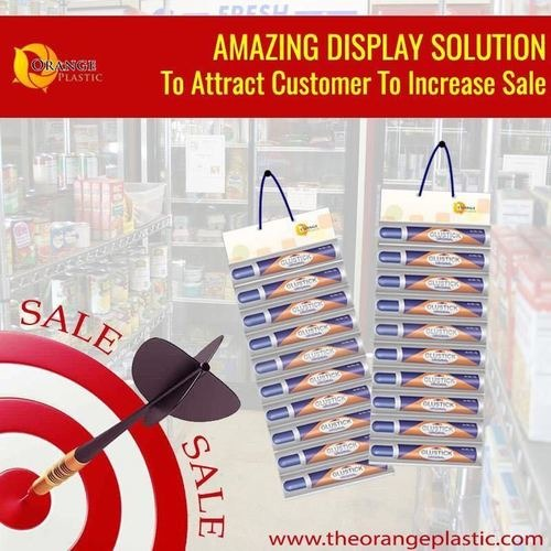 Advertising Display Pouch Hangers
