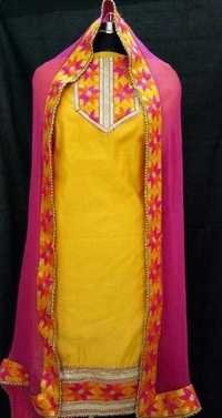 Patiala Phulkari Suit
