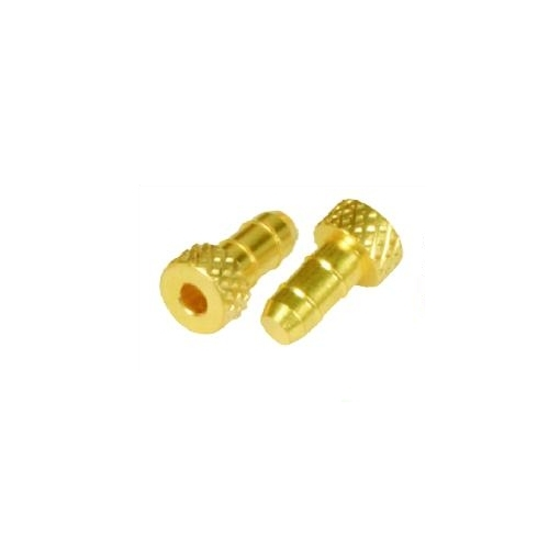 Brass Plug Dual Barb Fittigs