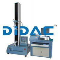 Single Column Servo Motor Bending Tensile Strength Test Machine