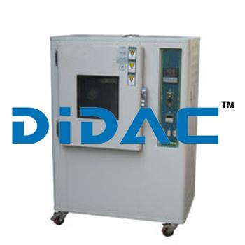 Air Motor Aging Rubber Testing Equipment