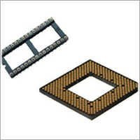 Screw Machine Pin IC Socket,PFA PGA Socket