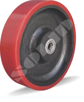 Polyurethane Cast Iron Wheel