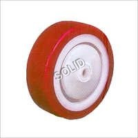 Polyurethane Tyred Nylon / PPCP Wheel