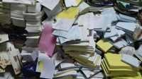 Post Office Wastes  Paper