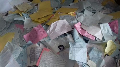 Files Waste Paper