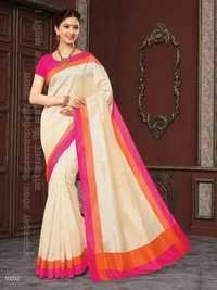 Weaving Cotton Silk Saree