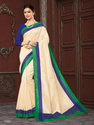 Gadhwal Cotton Saree