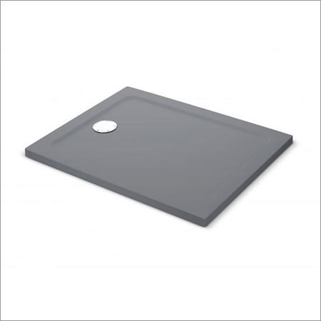Grey ABS Shower Tray Square