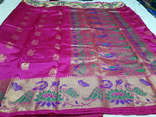 Paithani Big Peacock Sarees