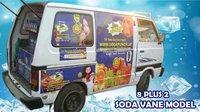 8+2 Van Soda Machine