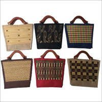 Fancy Jute Lunch Bags