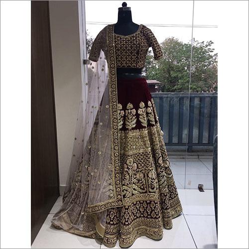 Designer Wedding Wear Lehenga