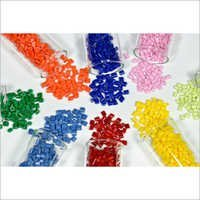 Colored Plastic Resin