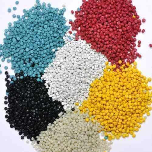 Colored Extruded Pvc Granules