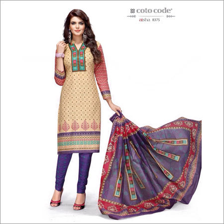 Unstitched Salwar Materials