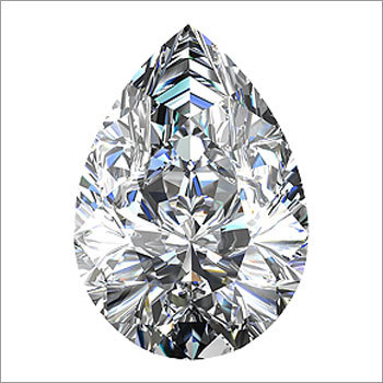 Pear Shaped Type2A Diamond