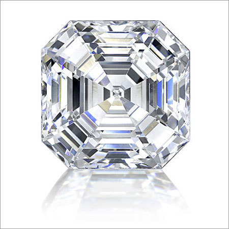 Asscher Shape HPHT Diamond