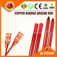 Copper Bonded Ground Rods