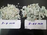light Green Crushed stone aggregate and chips for industrial epoxy flooring