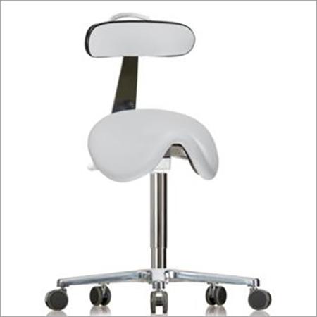 Saddle Stool With Backrest
