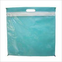 Green Zipper Bag