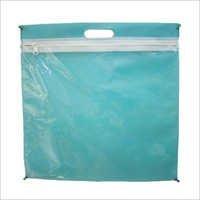 Green Zipper Bag