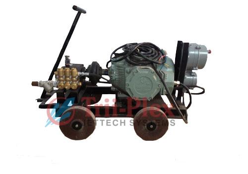 High Pressure Water Jet Cleaning Machine 5000 PSI
