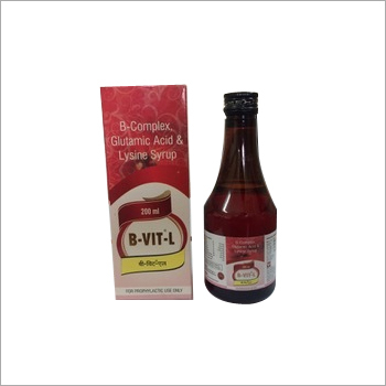 B-Complex with Lysine HCL syrup