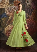 Silk Anarkali Suits