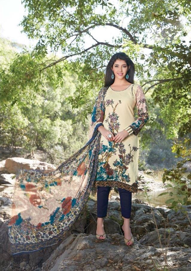 Sethnic Wholesale Vardan Navya Platinum 146 A Chiku budget dress supplier