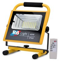 FOS 30W LED Rechargeable Flood Light