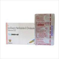 Levofloxacin 250 mg + Ornidazole 500 mg