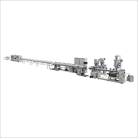 Three Layer Plastic Barrier Pipe Co-Extrusion Line