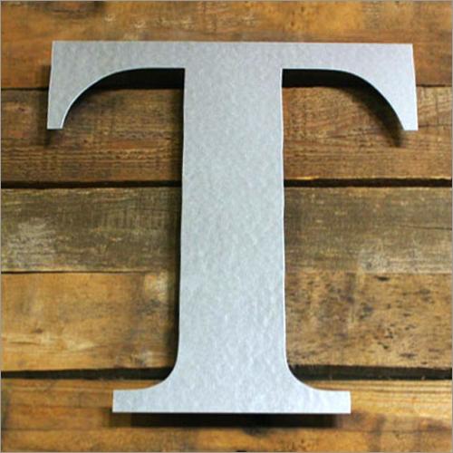 Aluminium Letters Board