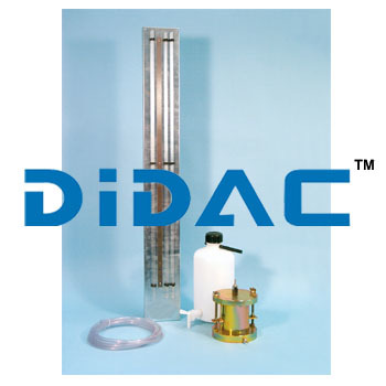 Manometer Tubes And Stand With Three Tubes