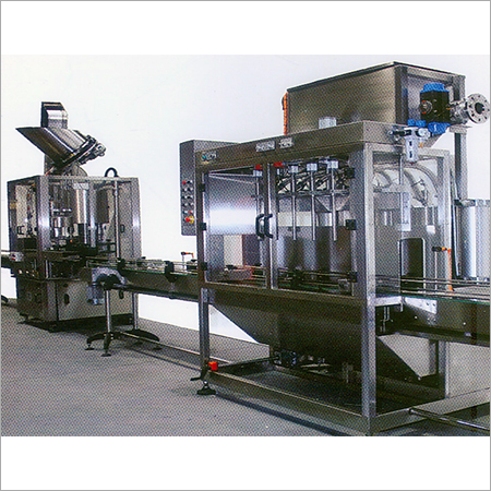 Lube Filling Line