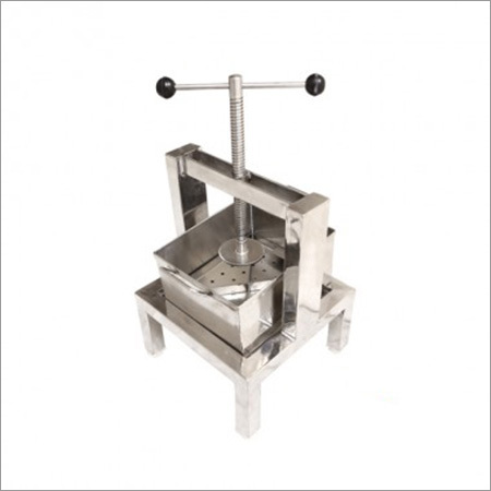 Paneer Press Manual-Paneer Press Hand Operated