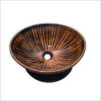 Colorful Ceramic Handmade Art Basin
