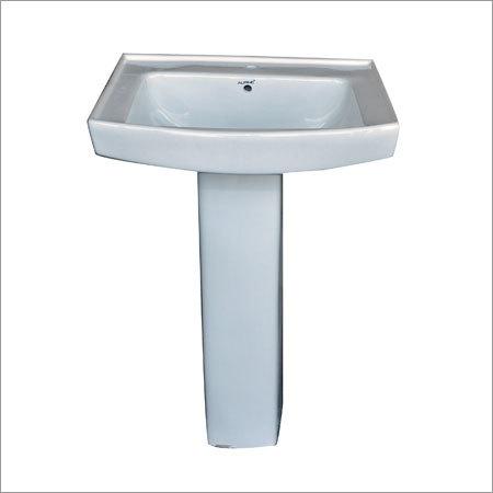 Plain Pedestal Wash Basin