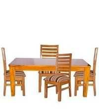 four-seater-dining-set-in-golden-polish-by-karigar
