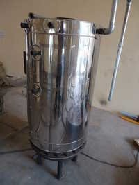 STEAM  COOKING  BOILER AND VESSEL