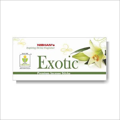 Exotic Premium Incense Sticks Small Pouch Pack